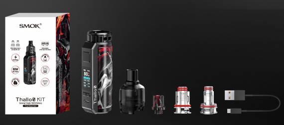 Smok Thallo S kit - внешняя АКБ формата 21700 + увеличенная мощность...