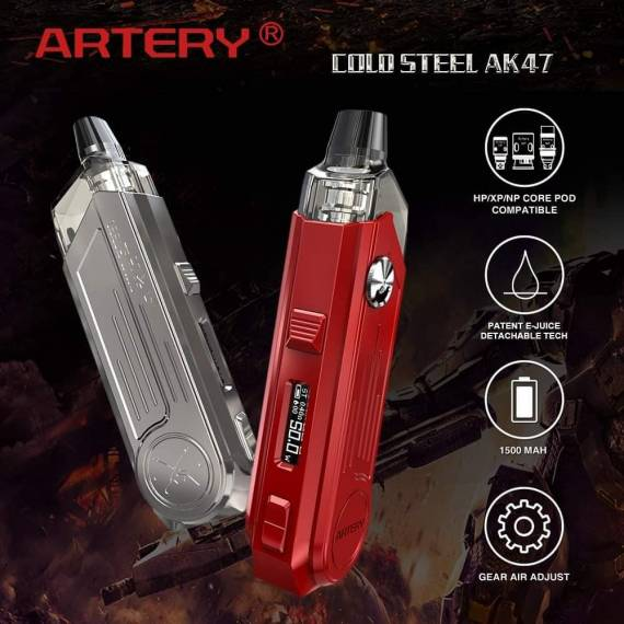Artery Cold Steel AK47 Pod kit - калаш с двойной регулировкой обдува...