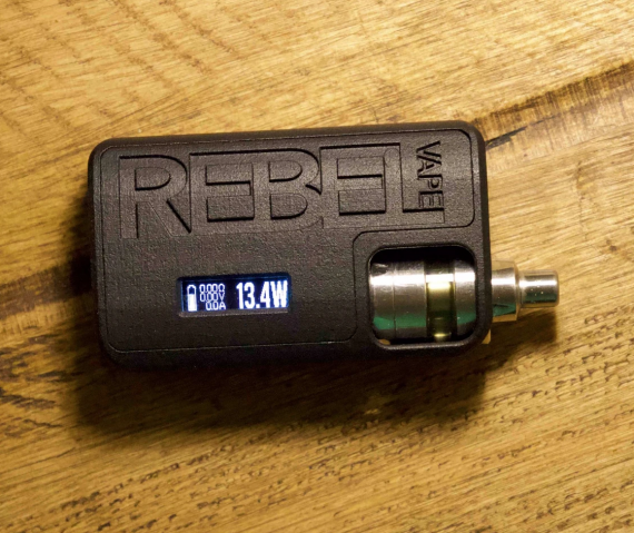 Rebel Vape The Rebel Mod - Evolv DNA 60 - формат 21700 покоряет стики...