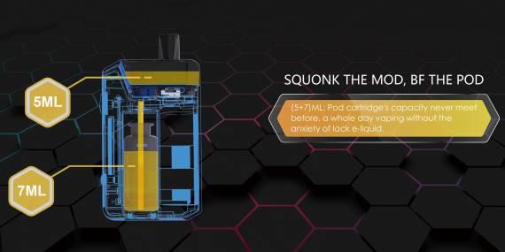 Otrvape Xones Squonk Pod kit - остановите я сойду - первый сквонк под-мод...