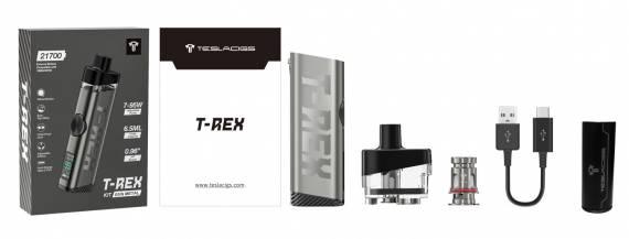 Teslacigs T-REX Pod kit - хищная, но симпатичная, рептилия...