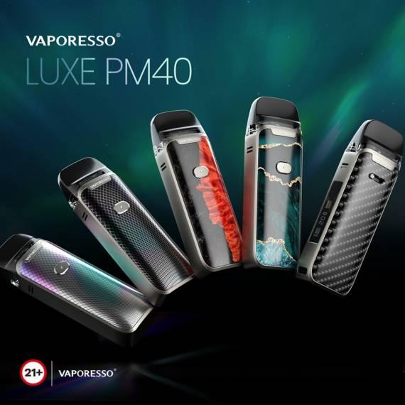 Vaporesso LUXE PM40 Pod Mod kit - наступают на пятки смокам...