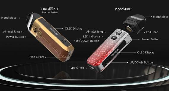 Smok Nord 4 kit - становится навороченнее с каждой ревизией...