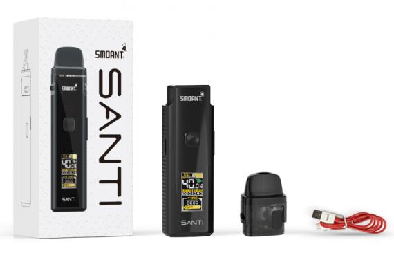 Smoant Santi Pod Mod kit - симпатично, фукционально и доступно...