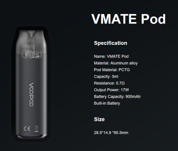VOOPOO Drag X / Drag S + Vmate Pod Gift Set Limited Edition -