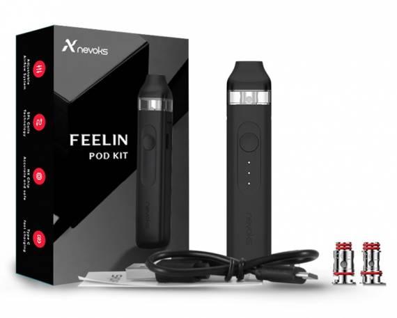 Nevoks FEELIN POD kit - стик с приятнымм набором опций...