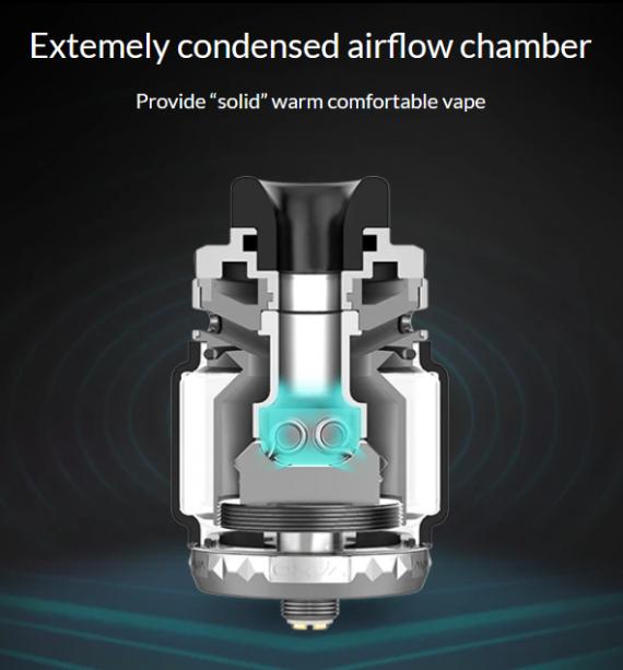 Oxva Arbiter RTA - массивная и продуваемая непроливайка...
