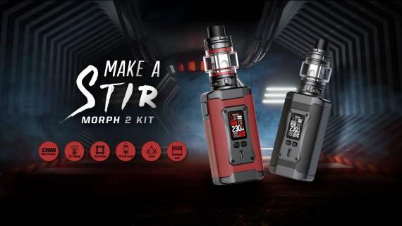 Smok MORPH 2 kit - очередной флагман с обновленным TFV...