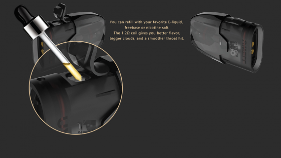 Uwell The Tripod - практичный вейп кейс...