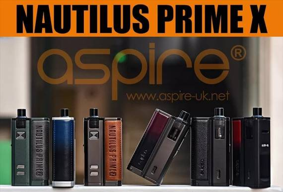 Aspire Nautilus Prime X 18650 Pod System - пара космитических, но существенных, изменений...