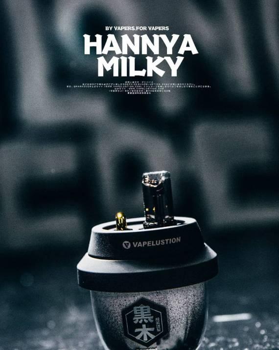 Vapelustion Hannya Milky Pod kit - хотите выделиться, пожалуйста...