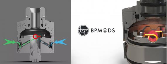 BP Mods Bushido V3 RDA - интересная штучка с крышкой...