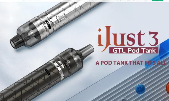 Eleaf iJust 3 with GTL Pod Tank kit - парочка новых наборов из того, что было...