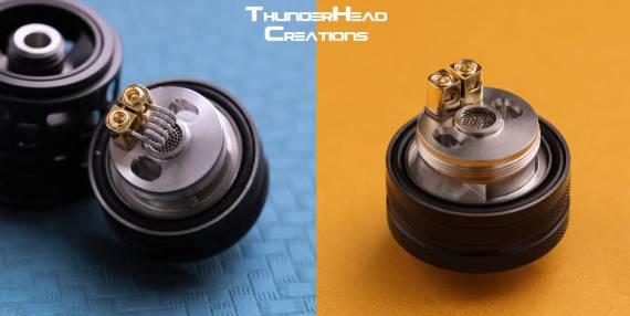 THC Tauren MTL RTA - кольчуга и интересная регулировка обдува...
