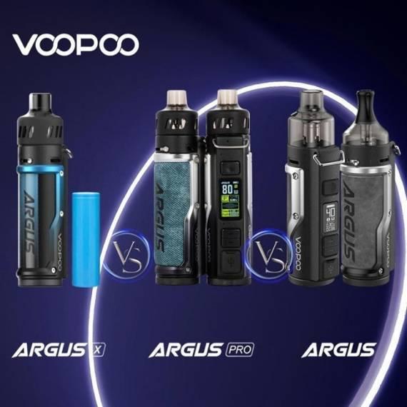 VOOPOO ARGUS X Pod Mod kit - запитали от 18650...