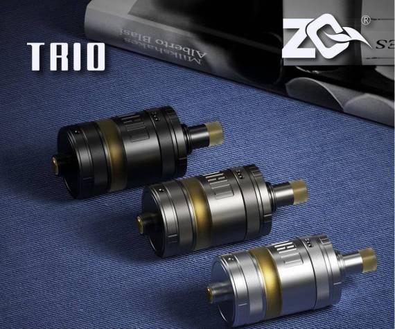 ZQ Trio MTL RTA - три кольца = три независимых варианта обдува...