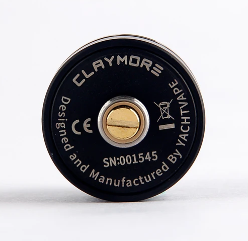 Yachtvape Claymore RDA - односпиральная «лакшери» непроливайка