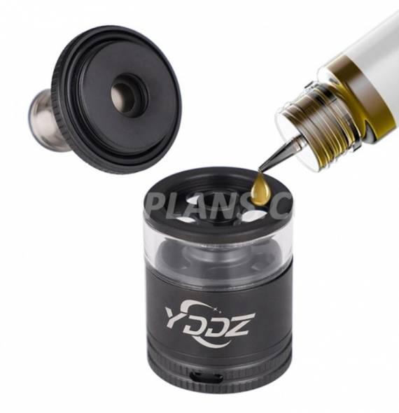YDDZ T1 MTL RTA 22mm - вот теперь точно интересно получилось...