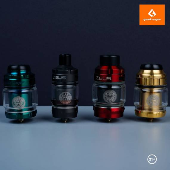 Новые старые предложения - GeekVape Zeus X RTA, Zeus Sub ohm Tank, Zeus X Mesh RTA и Zeus Nano Tank