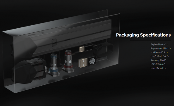 Acrohm Skyline Pod kit - столько фишек в одном поде...