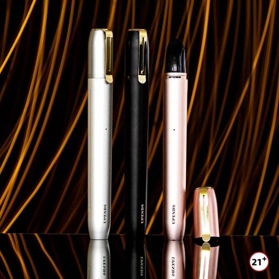 Upends UPPEN kit - ручка с серебром и златом...