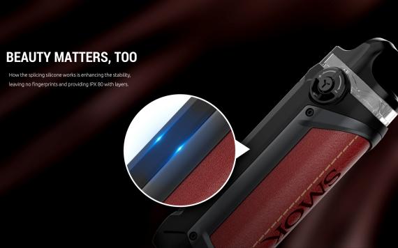 SMOK IPX 80 kit - защищенный и весьма автономный новичок...