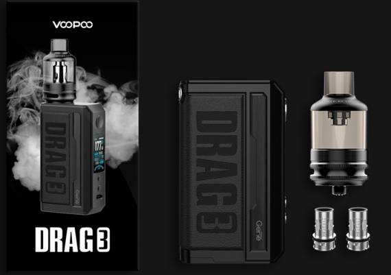 Voopoo Drag 3 kit - хайпу не быть!...