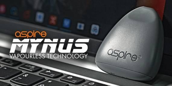 Aspire Mynus Disposable Pod - крохотный подик в виде медиатора...