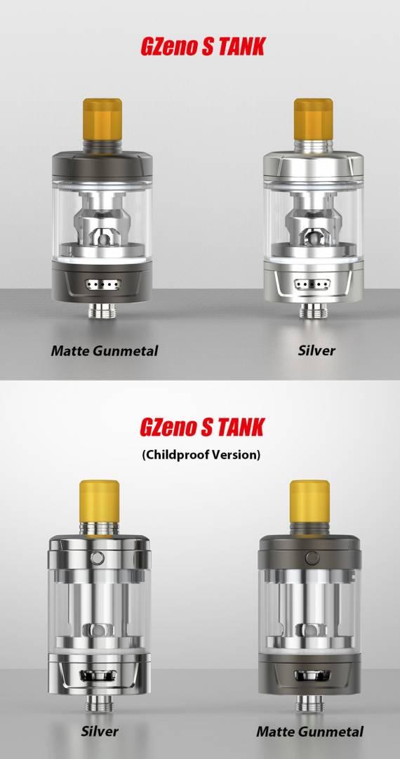 Eleaf Gzeno S Tank - новый танк в качестве аперитива...