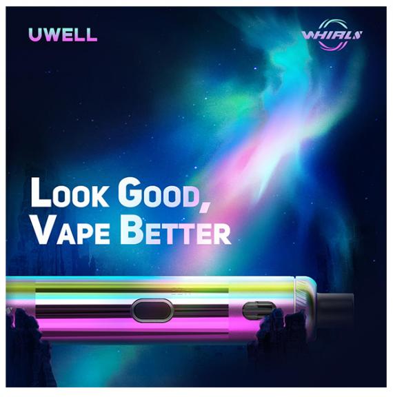 Uwell Whirl S Starter kit - то ли POD, то ли AIO...