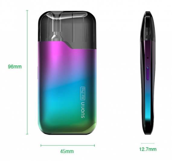 Suorin Air Pro Pod kit - знакомый кирпич с двумя вариантами зарядки...