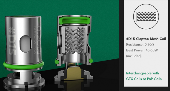 Wotofo SMRT Pod System kit - и снова обслуживаемая необслуга...