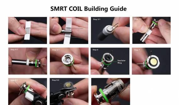 Наборы для обслуживания Wotofo SMRT Pod System kit...