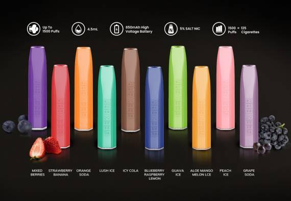 GEEK BAR Pro Disposable Device - одноразовое разнообразие...