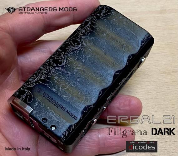 Strangers Mods ERGAL21 box mod - старший брат-билзнец...