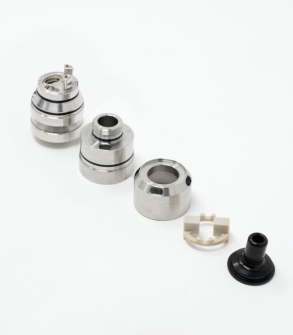 Steampipes Cabeo MTL / DL RTA - непроливаемый топкойлер...