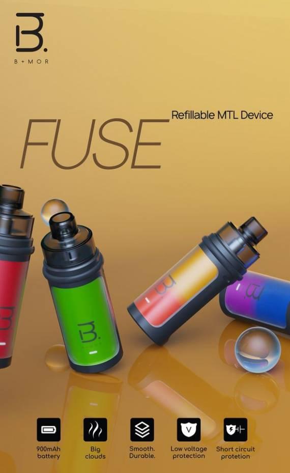Bmor Fuse Pod kit - новички растут...