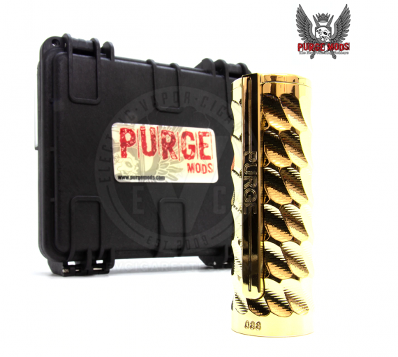 Purge Mods The Catalyst 21700 mech mod - очередной оригинал с боковой кнопкой...