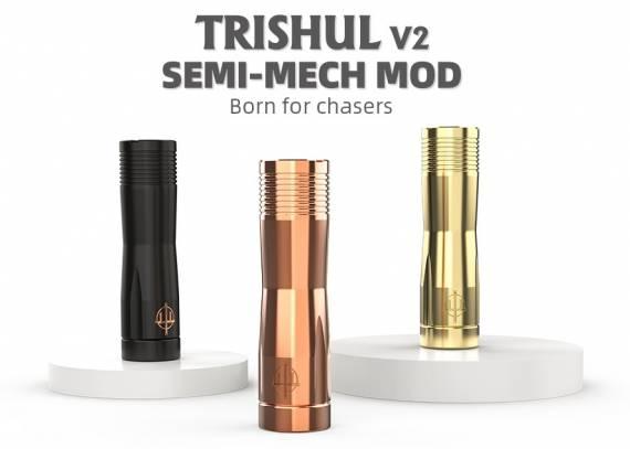 Hellvape Trishul V2 Semi-Mech mod - тольковый гибрид...