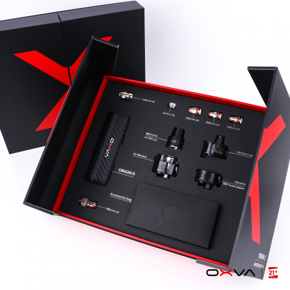 OXVA Origin X 3 in 1 kit - тройная выгода...