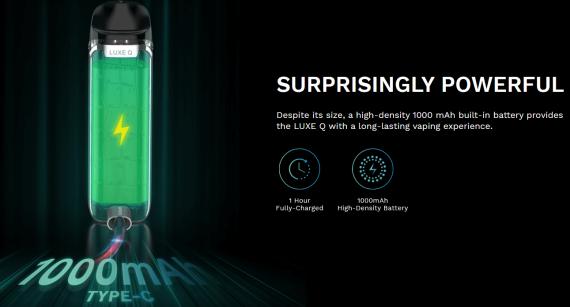 Vaporesso Luxe Q Pod kit - оправдывает навзвание...