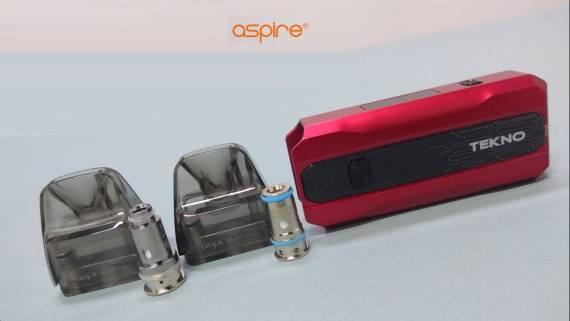 Aspire Tekno Pod kit - экземпляр для галочки...