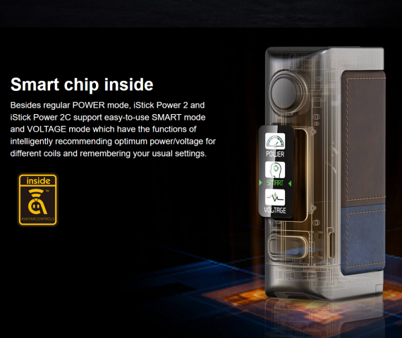 Eleaf iStick Power 2C kit - старшая версия на сменных АКБ...