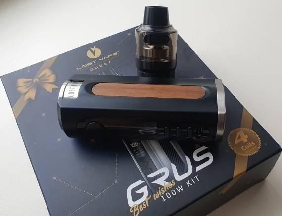 Пощупаем??? - Lost Vape GRUS 100W kit...