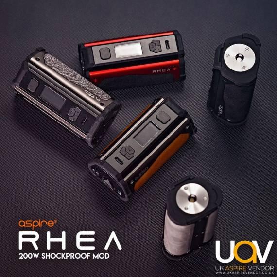 Aspire RHEA 200W - первый «неубиваемый» флагман...