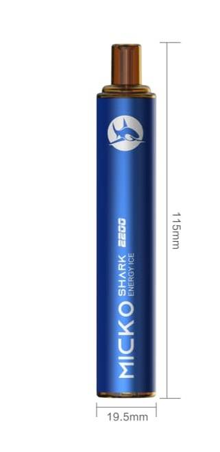 VEIIK Micko Shark Disposable Vape Pen - одноразовые гости...