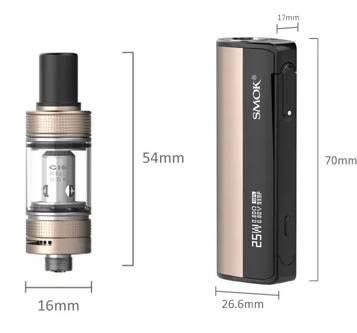 SMOK Gram-25 kit - утонченный стартовый набор...
