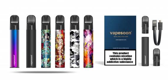 Vapesoon VSP Refillable POD - зайряднее не придумаешь...