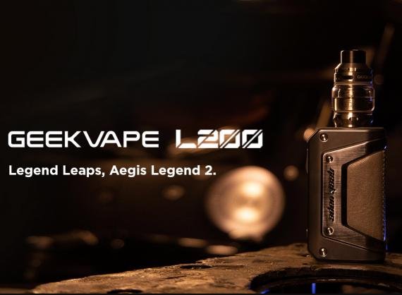 GeekVape L200 kit - презентация нового флагмана на скорую руку...