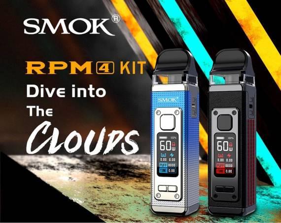 Smok RPM 4 kit - четвертый пошёл! приготовиться пятому...